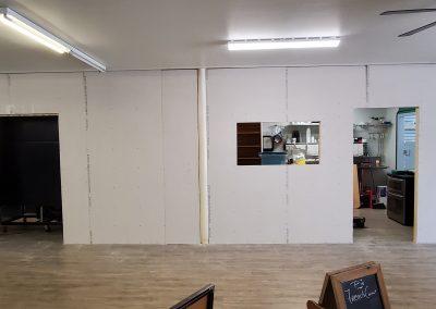 Kitchen sheetrock progress